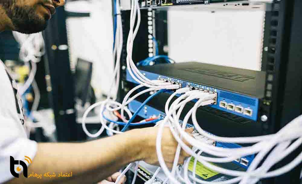 خدمات پسیو شبکه اعتماد شبکه پرهام